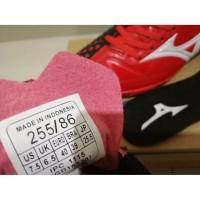 Sepatu Futsal Mizuno Wave Ignitus 4 Bright Red Black - TURF Diskon