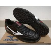 Dijual Sepatu Futsal Mizuno Monarcida Black - TURF Diskon