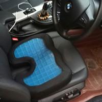 Bantal duduk Kursi Jok Alas Mobil Gentleman Design & Premum Quality