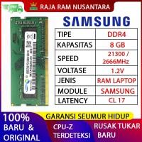 RAM LAPTOP SAMSUNG DDR4 8GB 2666 MHz 21300 ORI GAMING RAM NB DDR4 8GB