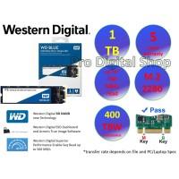WD SSD Blue M.2 SATA 2280 1TB / Baru / Ori / Garansi 5 Tahun
