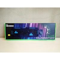 NYK Gladiator WS-500 Bundle Gaming Wireless Keyboard & Gaming Mouse