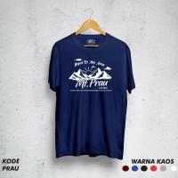 Kaos pendaki/Kaos gunung/ t-shirt PRAU Kaos Lengan Pendek