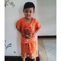 Setelan Baju Barong Anak Bali