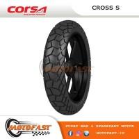 BAN MOTOR CORSA TUBELESS 110/80-14 CROSS S PLATINUM NEW VARIO, AEROX