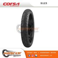 BAN MOTOR CORSA TUBELESS 100/70-17 S123 R15 DPN, JUPITER MX BLK