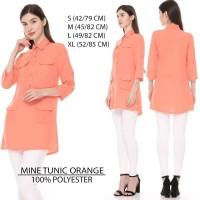 Baju Branded Wanita - MINE TUNIC ORANGE