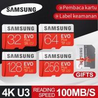 Samsung Kartu Memori TF Class10 Kapasitas 32GB/64GB/128GB Micro SD Ori
