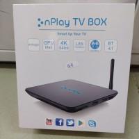 ANDROID TV BOX NPLAY G4 Antena