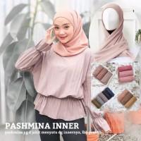 Pashmina Instant Plus Inner (2IN1) - Pashmina+Inner - 100% Termurah