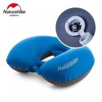 Bantal Leher Tiup Lipat/Folding Neck Travel Pillow U Shape Naturehike