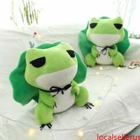 Travel Frog Hat Game Girls Baby kids comfort Soft lo