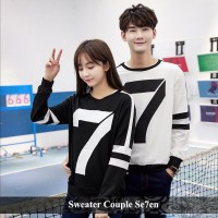 murah kapel sweater couple terbaru baju pasangan lengan panjang