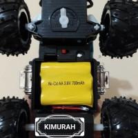 Unik rc monster truck remot kontrol mobil big foot jeep off road Murah