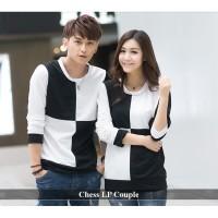 kapel sweater couple terbaru baju pasangan lengan panjang kopel