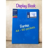 60 pocket A4 Display Book 3147xx Bantex Clear Holder ATK0685BX