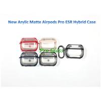 Apple Airpods Pro ESR New ARCYLIC DOFF Clear Premium Case + Strap