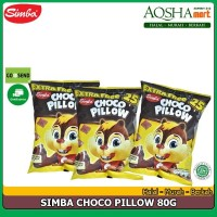 SIMBA CHOCO PILLOW COKELAT BANTAL SEREAL 80G