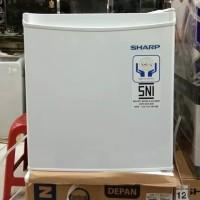 SHARP mini bar kulkas mini SJ50MBXW