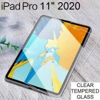 iPad Pro 11 Inch Inci 2020 Tempered Glass Antigores Screenguard Bening