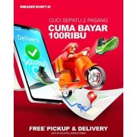 SNEAKERSHOOT Paket Cuci Sepatu Premium 2 Pasang (Khusus JABODETABEK)