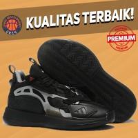 Sepatu Basket Sneakers Adidas Zoneboost Core Black Pria Wanita