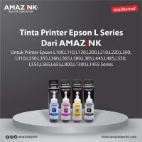 1 Set Tinta Printer Epson L Series CMYK dari AMAZiNK