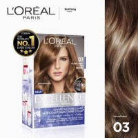 L'oreal Excellence Fashion Ultra Light Ash Brown No 03