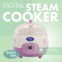 BABYSAFE Digital Steam Cooker LB010 Slow Cooker Baby Food Maker
