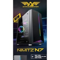 Armageddon Nimitz N7 Full ATX Gaming Case With Multi Color Effects