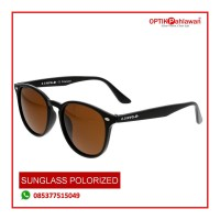 Sunglass Lensa Polrized Original Pria/Wanita 2.5 NVG Warna hitam