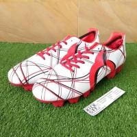 Terpopuler ! Ortuseight Ventura FG (Sepatu Bola) - White/Red/Black