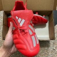 Unik Sepatu Bola Adidas Predator Mania II Red Silver FG Diskon