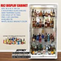 LEMARI PAJANG Miras Alkohol Liquor Vodka Spirit WINE DISPLAY RAK HIAS