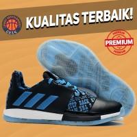 Sepatu Basket Sneakers Adidas Harden 3 Wanted Blue Pria Wanita