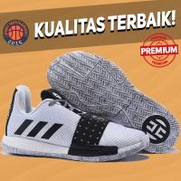 Sepatu Basket Sneakers Adidas Harden 3 White Black Pria Wanita