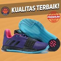 Sepatu Basket Sneakers Adidas Harden 3 Drew League Pria Wanita