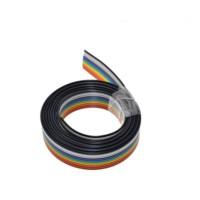 1 meter Cable Rainbow 10p Flat Kabel Pelangi Pita 10 pin 1m 1.27mm IDC