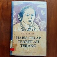 Buku Habis Gelap Terbitlah Terang RA Kartini HC Hardcover hard cover