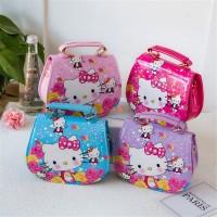 Tas selempang anak Girl's hello kitty Handbag Cute Cartoon Ladies