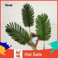 ✲Di 1Pc Artificial Coconut Tree Palm Green Leaves Plant Office