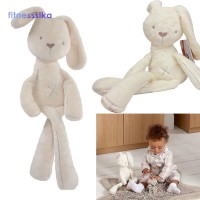 Mainan Boneka Stuffed Kelinci Super Pro Lembut Nyaman Warna Putih