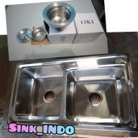 LARIS Bak Cuci Piring 2 Lubang Westafel Sink kitchen sink grab it