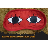Penutup Mata Okita Sougo Kaca Mata Tidur Lucu Sleeping - Eyepatch 09