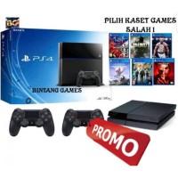 PS4 PLAYSTATION 4 PS 4 FAT SONY + HDD 500GB FULLSET