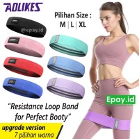 AOLIKES Booty Resistance Band Workout Fabric Yoga Squat Glutes Hip Leg