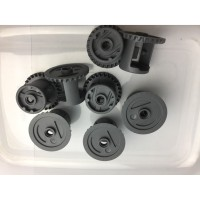lego part Technic, Gear Differential with Inner Tabs and Closed Center