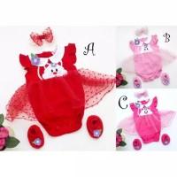 Meow Jumper / Jumper Bayi Perempuan Lucu Murah / Baju Bayi Cewe
