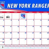 Turner New York Rangers 2016 Desk Calendar, January-December 2016, 22