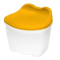 Tempat penyimpanan CB-12L Shuter Kero Kero Toys Storage&Stool (Yellow)